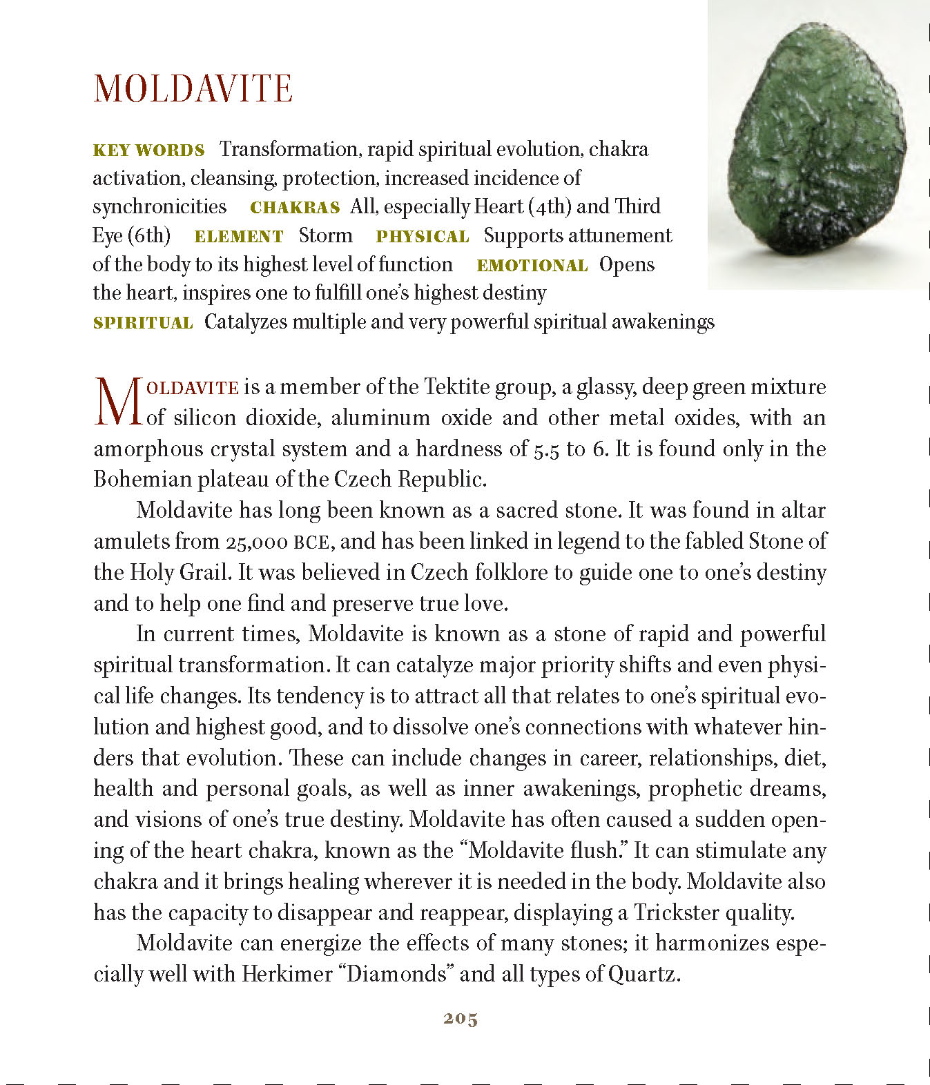 My moldavite experience [Text Only] - Aeclectic Tarot Forum